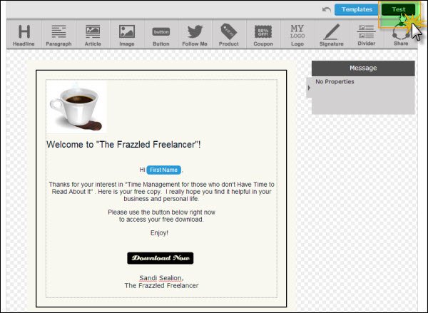 test How To Create An Autoresponder And Broadcast Email In Aweber