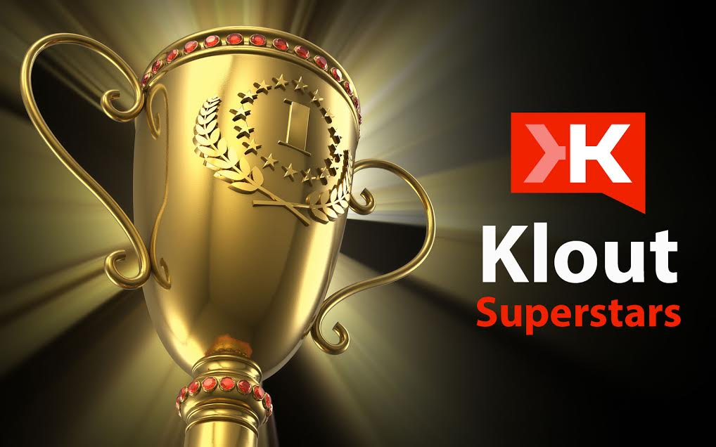 Klout superstars