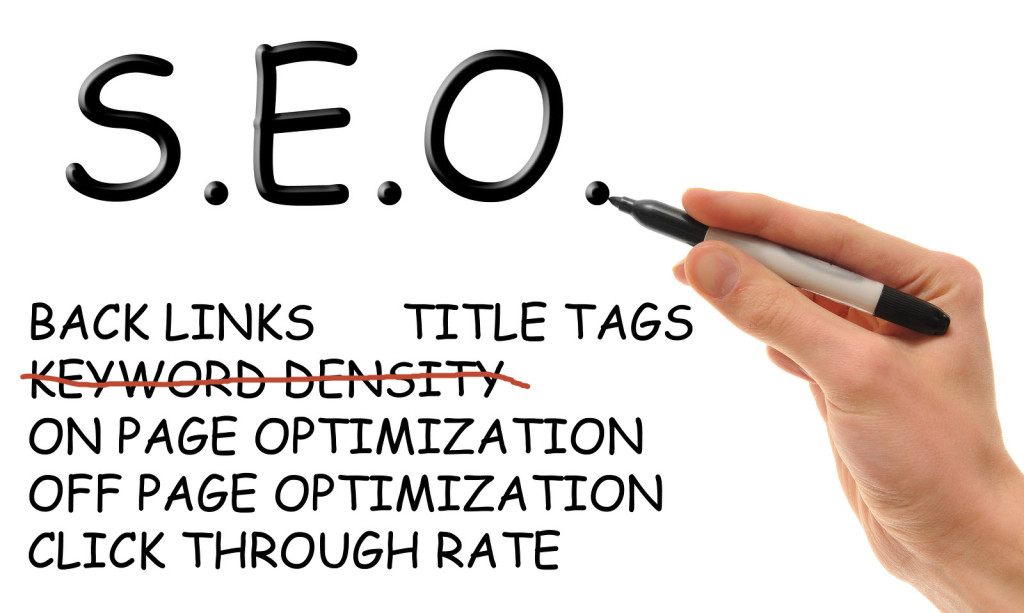 SEO Tip: Bye Bye Keyword Density