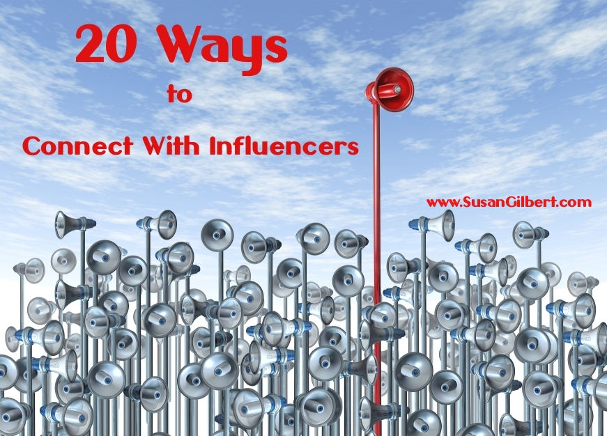 20 Ways to Connect With Influencers